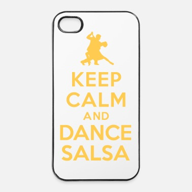 Jazz Keep calm and dance Salsa - Coque rigide iPhone 4/4s