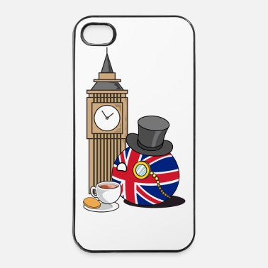 Country GreatBritainBall - iPhone 4/4s hard case