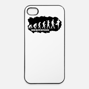 Collections Evolution Of Yoga - iPhone 4/4s Hard Case