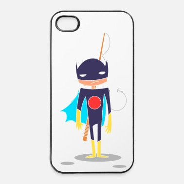 Héros super Heros kawaii 4 - Coque rigide iPhone 4/4s