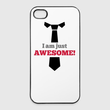 Awesome - Custodia rigida per iPhone 4/4s