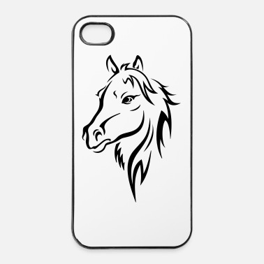 Galop HORSE HEAD - iPhone 4/4s hard case