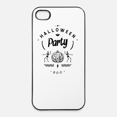 Party halloween party - Custodia rigida per iPhone 4/4s