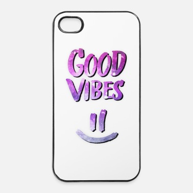 Chill Good Vibes! Funny Smiley Statement / Happy Face - iPhone 4/4s hard case