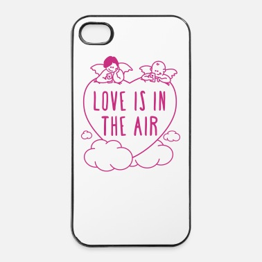 valentine - love is in the air 1c - iPhone 4/4s Hard Case