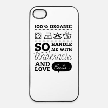 Tlc i love liebe heart t-shirt sprüche nerd t-shirts - iPhone 4/4s Hard Case