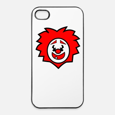 Rire clown - Coque rigide iPhone 4/4s