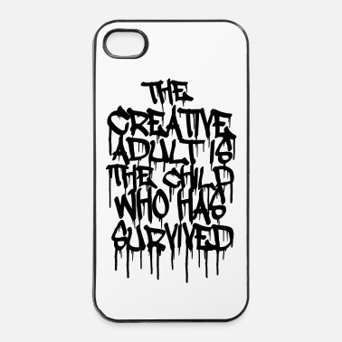 Créatif The Creative Adult is the Child Who Has Survived - Coque rigide iPhone 4/4s
