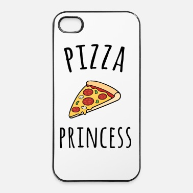 Pizza Pizza Princess Funny Quote - Custodia rigida per iPhone 4/4s