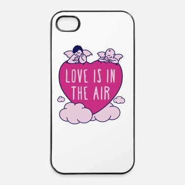 valentine - love is in the air 3c - iPhone 4/4s Hard Case