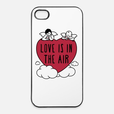 Valentines Day love is in the air 2c - iPhone 4/4s Hard Case
