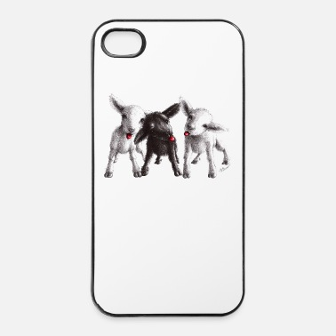 Oostenrijk cheeky sheep - iPhone 4/4s hard case