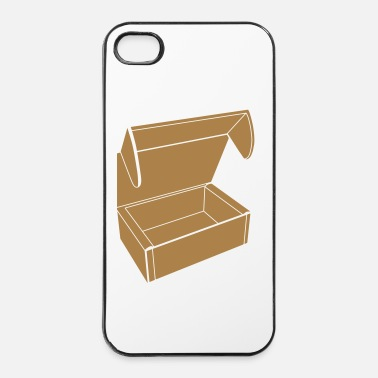 Papier Kartonnen doos - iPhone 4/4s hard case