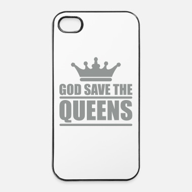 Equalizer God save the queens (1 color) - iPhone 4 & 4s Case