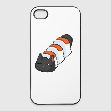 sushi cat.png - Coque rigide iPhone 4/4s