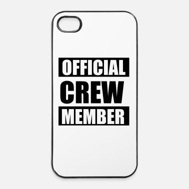 Party Official crew member - Custodia rigida per iPhone 4/4s