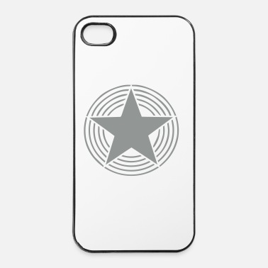 Circle Star With Circles - iPhone 4 & 4s Case