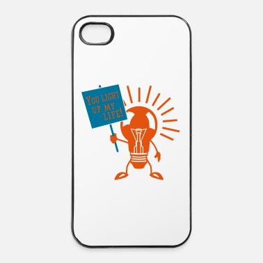 Up You light up my life - iPhone 4/4s hard case