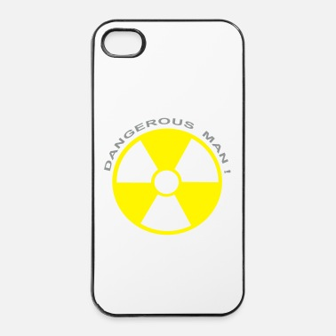 Radioactif dangerous man radioactif - Coque rigide iPhone 4/4s