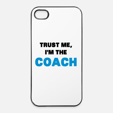 Muscle Trust Me, I'm the Coach - Coque rigide iPhone 4/4s