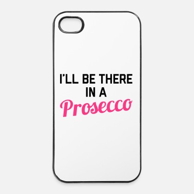 Street In A Prosecco Funny Quote - Coque rigide iPhone 4/4s