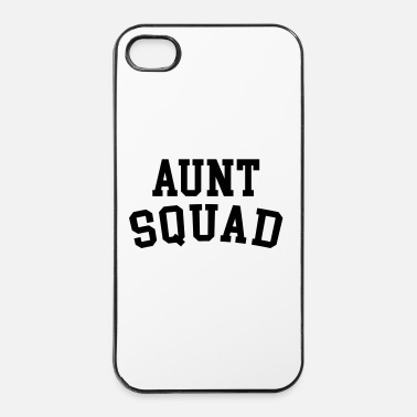 Fun Aunt Squad Funny Quote - Coque rigide iPhone 4/4s