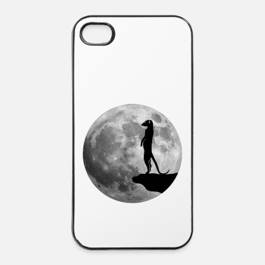 Lune suricate lune - Coque rigide iPhone 4/4s