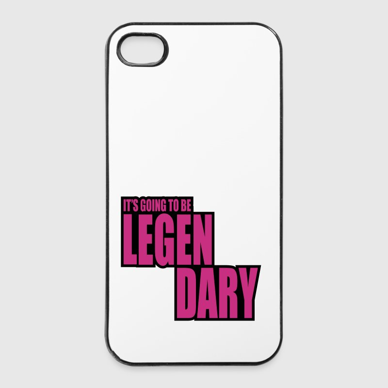 it's going to be legendary 2c - Coque rigide iPhone 4/4s