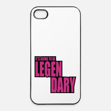Legendario it's going to be legendary 2c - Carcasa iPhone 4/4s