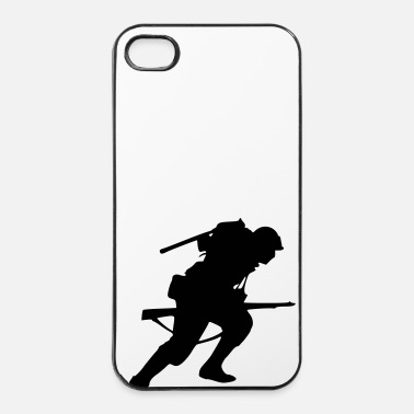 Military soldier - iPhone 4 & 4s Case