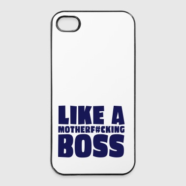 like a motherfcking boss 1c / like a boss - Coque rigide iPhone 4/4s