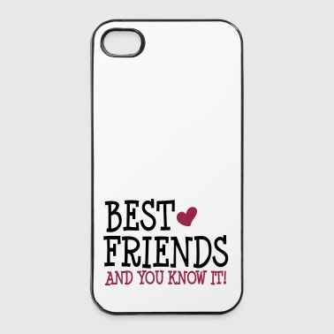 best friends and you know it ii 2c - iPhone 4/4s Hard Case