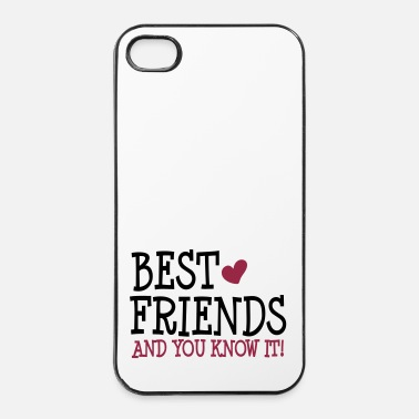 S'aimer best friends and you know it ii 2c - Coque rigide iPhone 4/4s