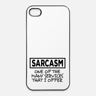 Satire sarcsam i - Coque rigide iPhone 4/4s