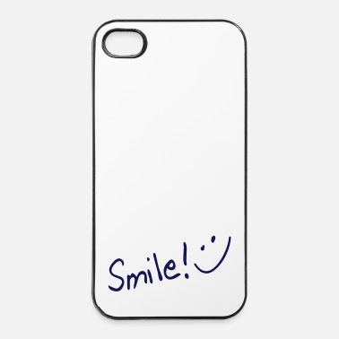 Happy Birthday smile - Custodia rigida per iPhone 4/4s