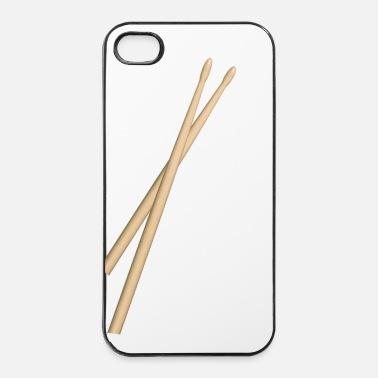 Band Drumsticks - iPhone 4/4s hard case