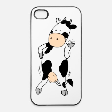 Collections Mooviestars - Hipster Cow - iPhone 4/4s Hard Case