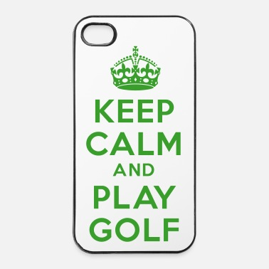 Golf Keep calm and golf - Coque rigide iPhone 4/4s