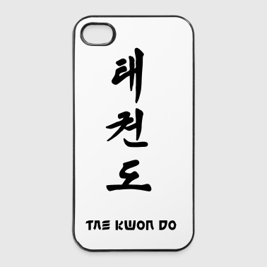 taekwondo_schrift - iPhone 4/4s Hard Case