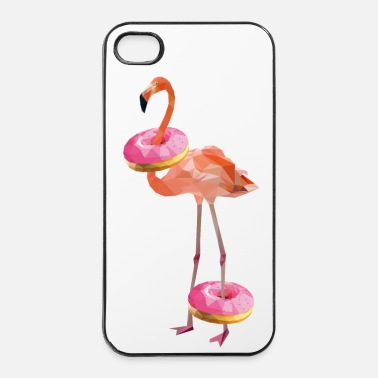 Flamingo donut-flamingo - iPhone 4 & 4s Hülle