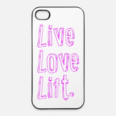 Lifting live love lift |  iPhone4/4s cover - iPhone 4 & 4s Case