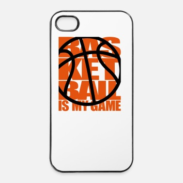 Féminin Basketball is my Game - Basket-ball basket  - Coque rigide iPhone 4/4s