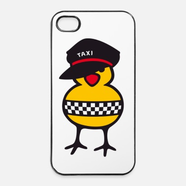 Ny taxi chick - Coque rigide iPhone 4/4s