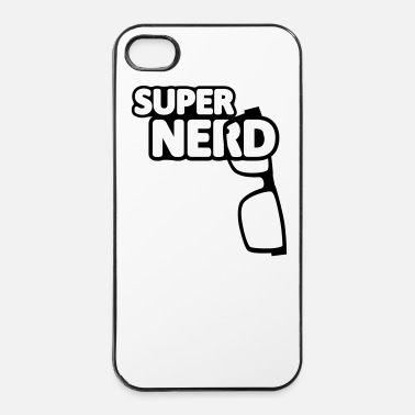 Pc Super Nerd // Geek// Schlau// Intelligent// Brille - iPhone 4 & 4s Hülle