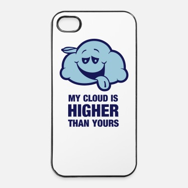 My cloud is higher than yours - iPhone 4/4s Hard Case