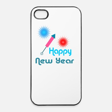 Nieuwjaar Happy New Year - iPhone 4/4s hard case