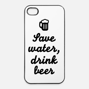 Coole Save water drink beer - iPhone 4/4s Hard Case