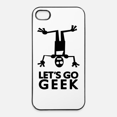 Story Lets go GEEK (1c) - Coque rigide iPhone 4/4s