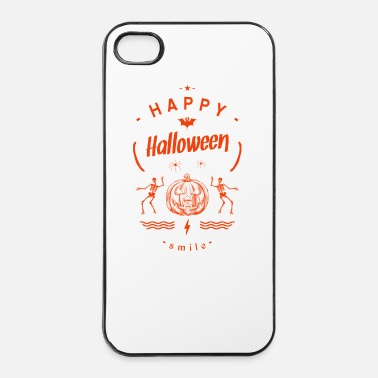 Esprit Fantôme happy halloween-smile - Coque rigide iPhone 4/4s