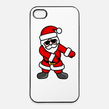 Santa Claus Floss dance Flossing cool Santa Claus Christmas - iPhone 4 & 4s Case